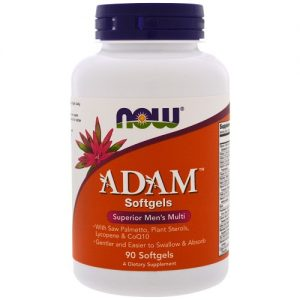 Now Foods Adam Multivitamin Softgels
