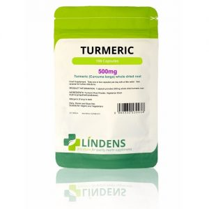 Lindens Turmeric (Whole Root Caps) 500mg