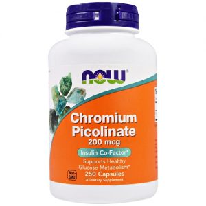 Now Foods Chromium Picolinate 200mcg