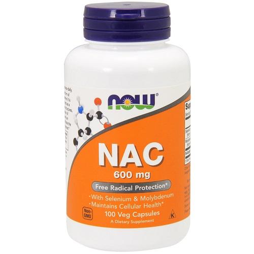 Now Foods NAC With Selenium & Molybdenum 600 mg