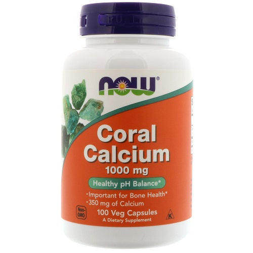 Now Foods Coral Calcium 1,000 mg