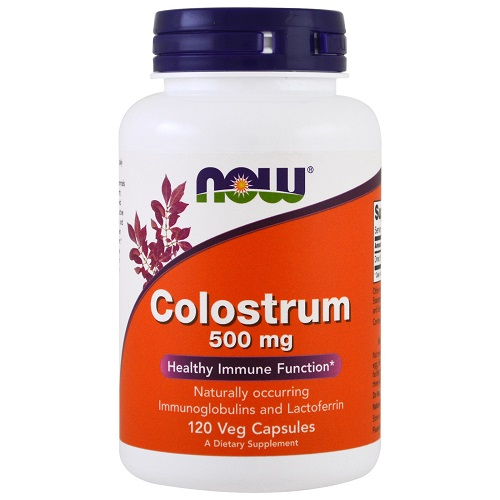 Now Foods Colostrum 500 mg