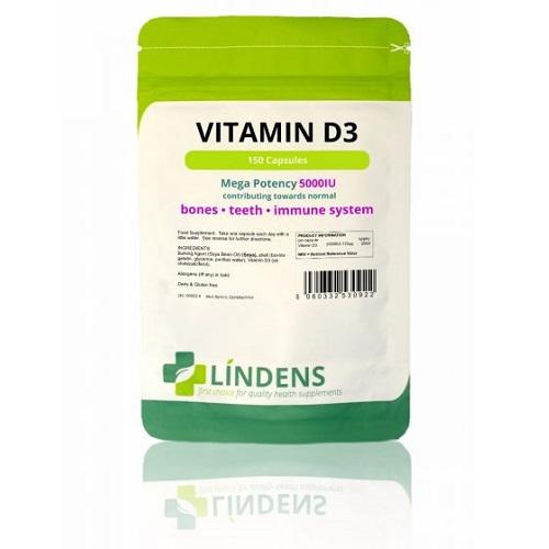 Lindens Vitamin D3 5000IU