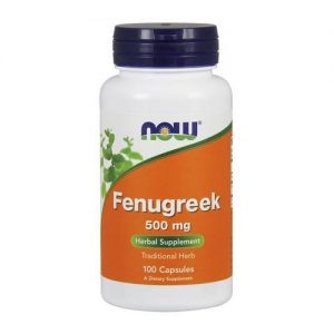 Now Foods Fenugreek 500mg