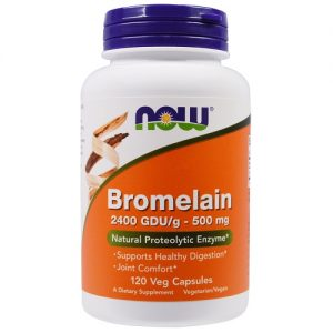 Now Foods Bromelain 500mg