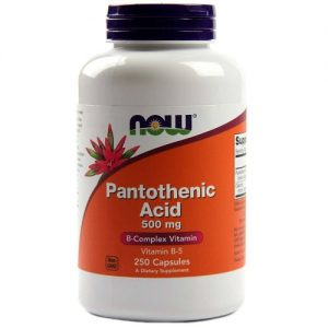 Now Foods pantothenic acid 500mg