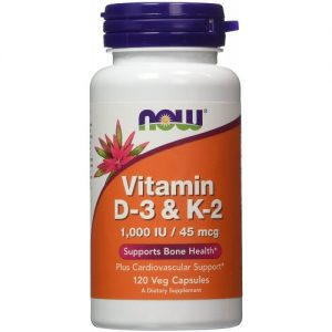 Now Foods vit D3 & K2