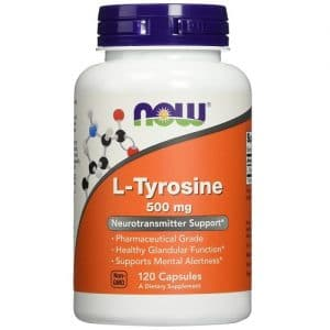 Now Foods L-Tyrosine 500mg