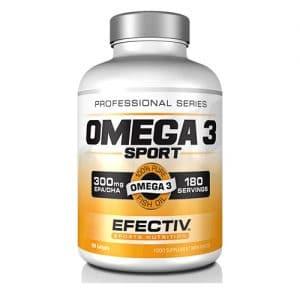 Efectiv Omega 3 Sport - 180 Softgels