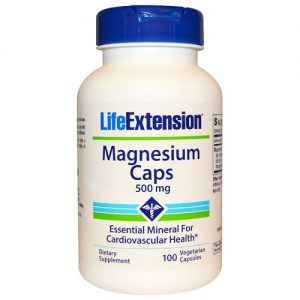 Life Extension Magnesium Capsules 500mg