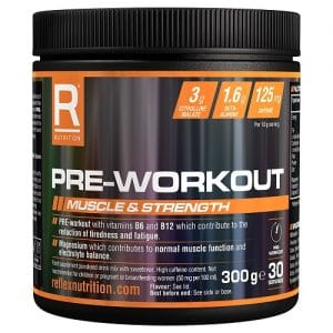 Relfex Nutrition Pre Workout Fruit Punch